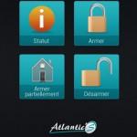 Nouvelle appli iPhone pour alarme Atlantic'S !