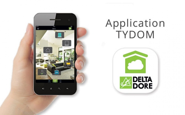 Application mobile TYDOM de deltadore