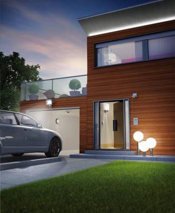 domotique maison connectée et sécurité - éclairage extérieur