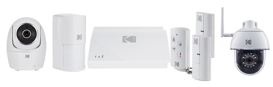 Kodak Smart sécurité - système d'alarme connectée et caméras IP