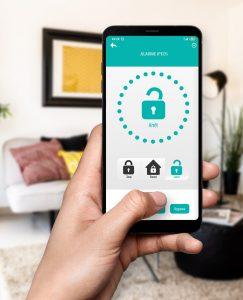 Application smartphone alarme maison Atlantic'S