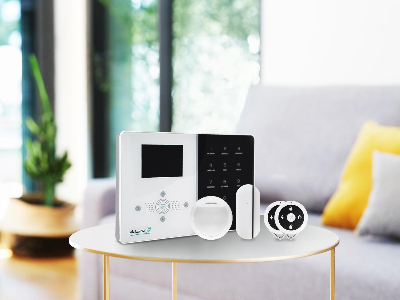 Pack alarme maison Atlantic'S IPEOS