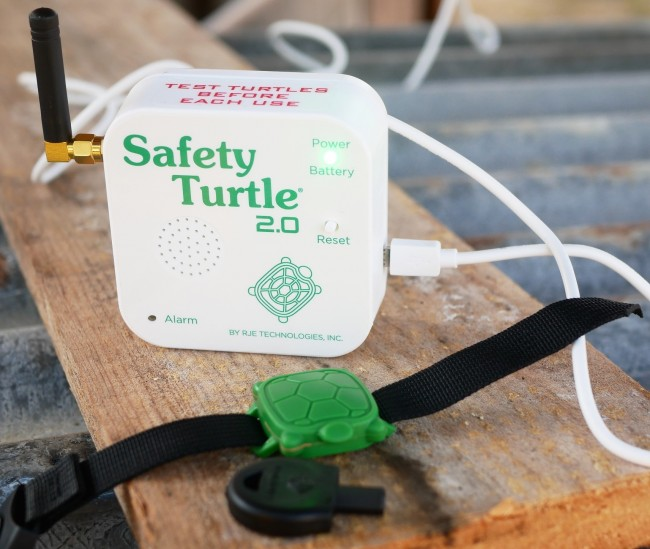 Alarme piscine Safety Turtle 2.0