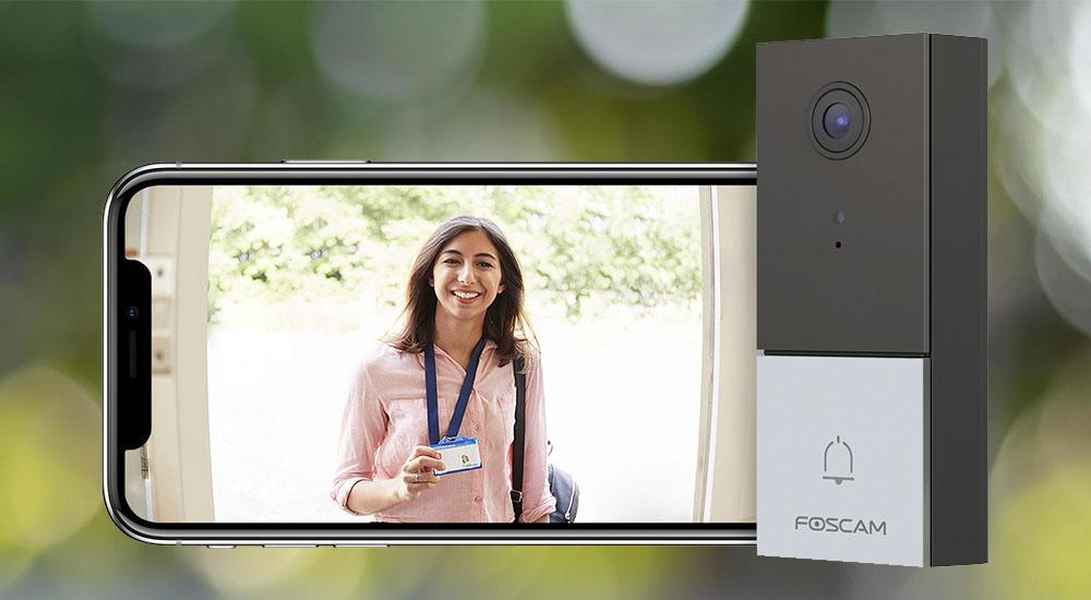 Sonnette vidéo IP VD1 Foscam